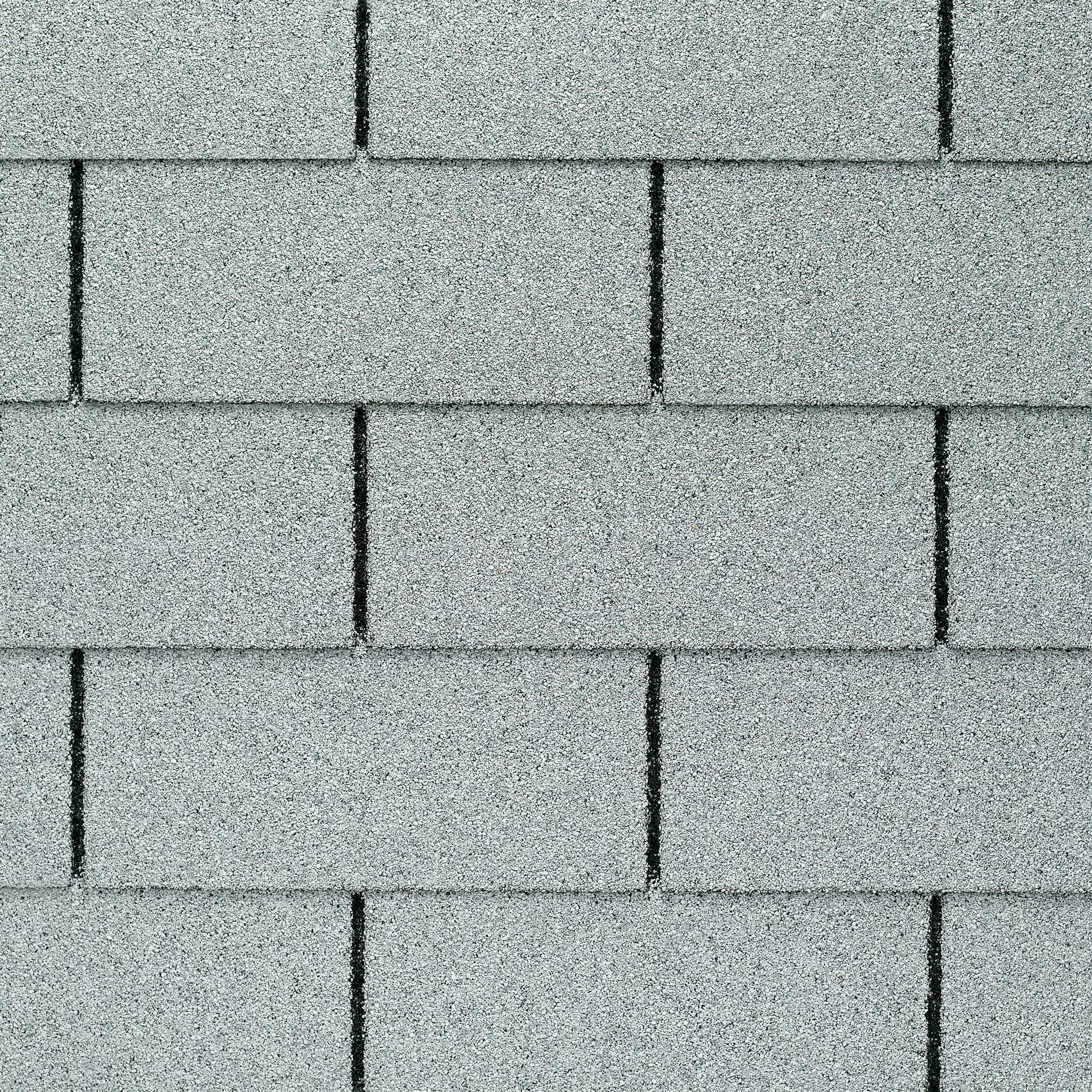 Close up photo of GAF's Royal Sovereign White shingle swatch