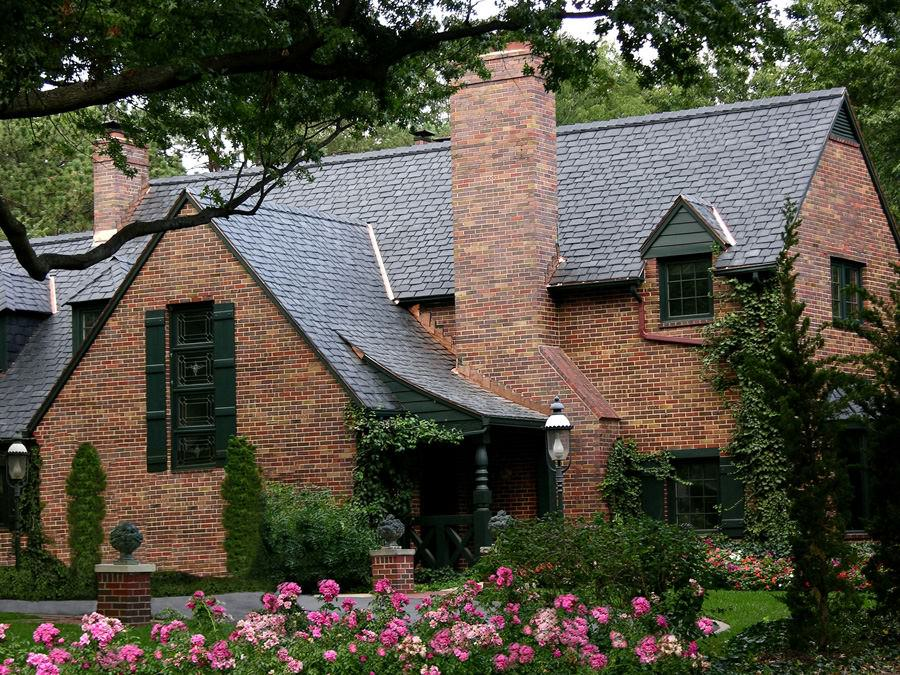 Beautiful Slate Roofing