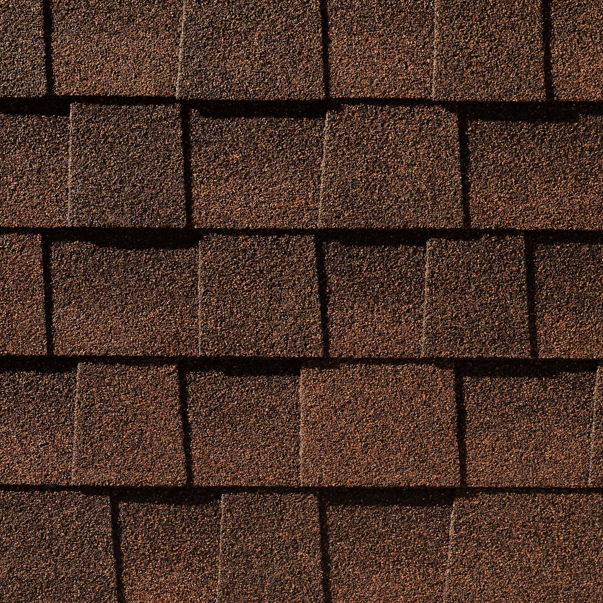 Close up photo of GAF's Timberline Natural Shadow Hickory shingle swatch