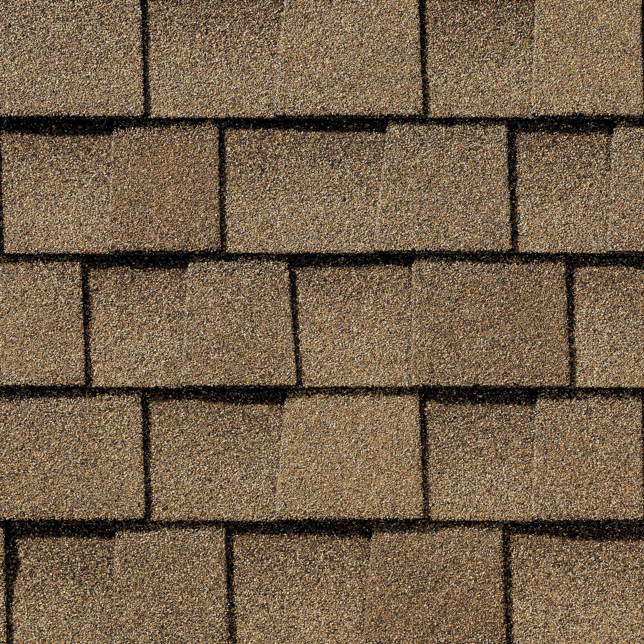 Close up photo of GAF's Timberline Natural Shadow Shakewood shingle swatch