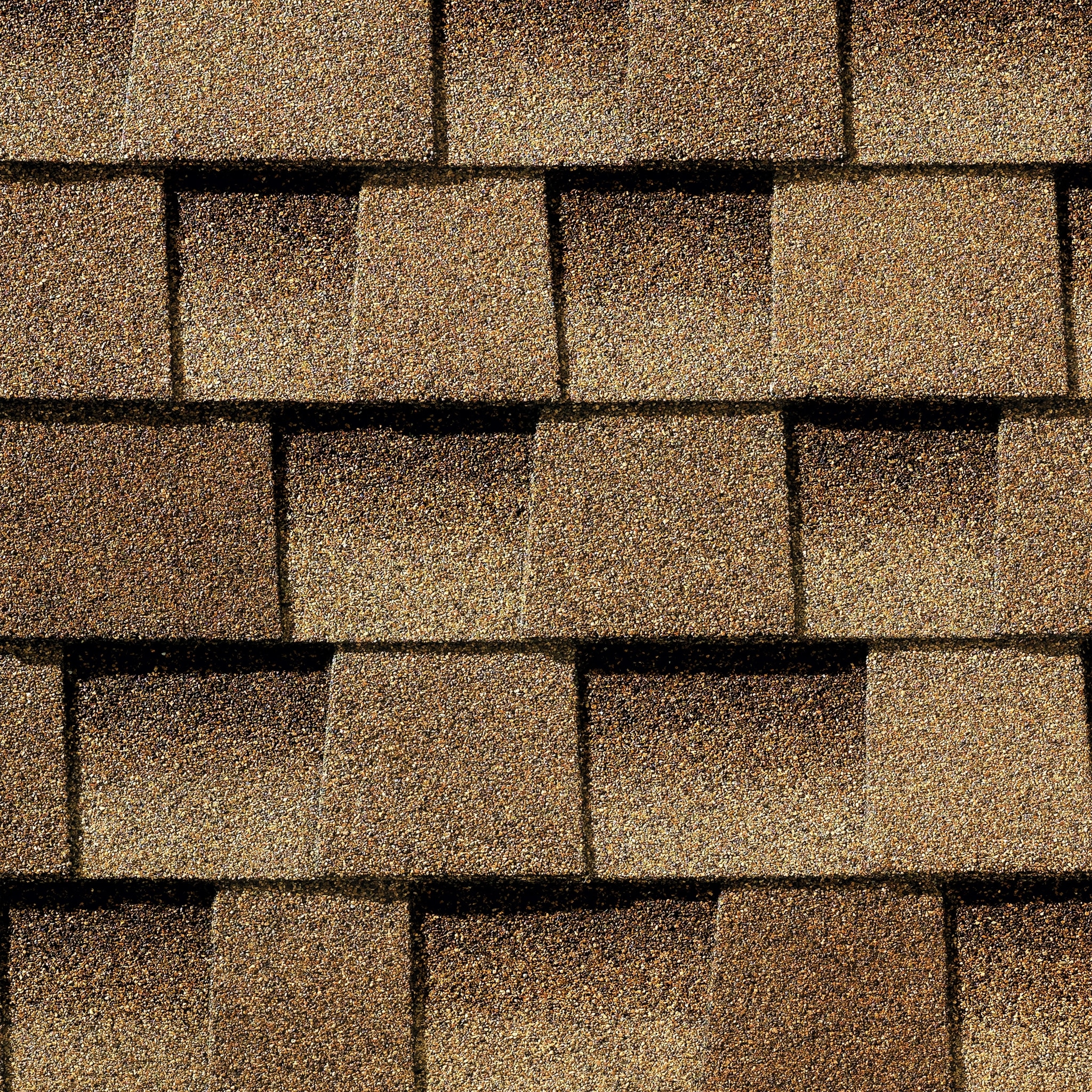 Close up photo of GAF's Timberline Ultra HD Shakewood shingle swatch