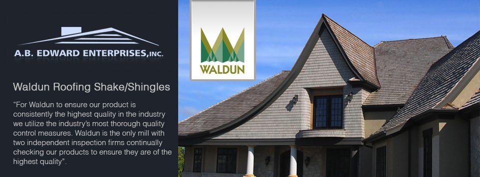 Waldun shake and shingles shingle roofing company for Davinci shake roof reviews