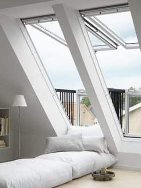 Balcony Roofing Windows by VELUX - Installed by AB Edward Enterprises