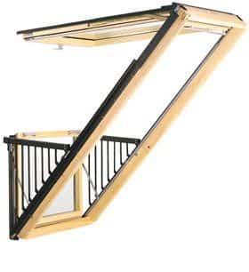 CABRIO™ Balcony Roof Window (GDL)