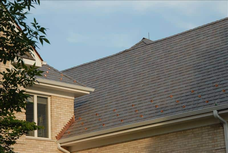 Benefits of synthetic slate roofing ab edward lake for Davinci synthetic slate price