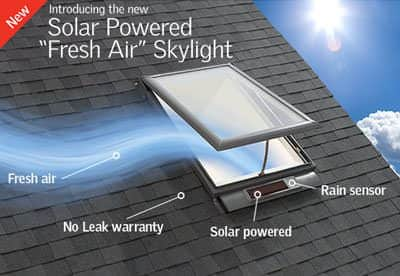 VELUX Solar Powered Skylight