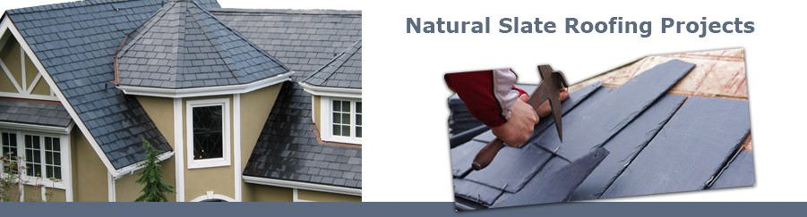 Natural Slate Roofing Projects