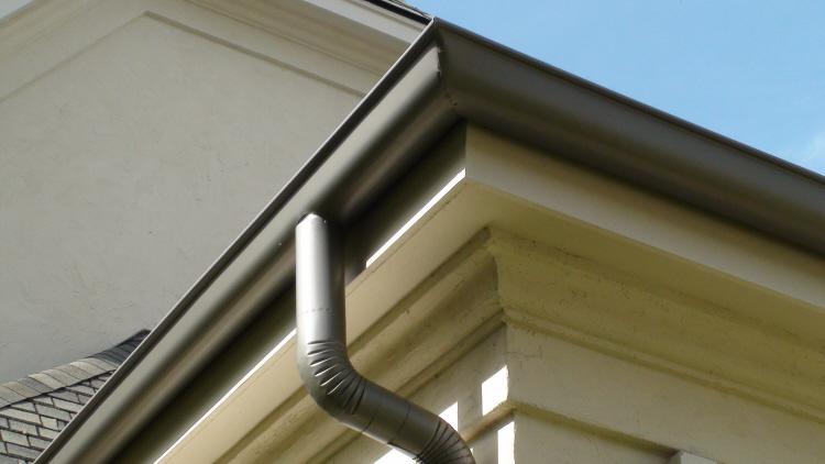 Aluminum Half Round Gutter System