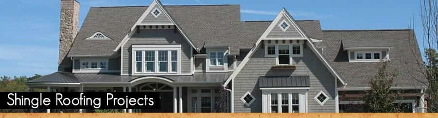 Shingle Roofing Projects by A.B. Edward Enterprises, Inc.