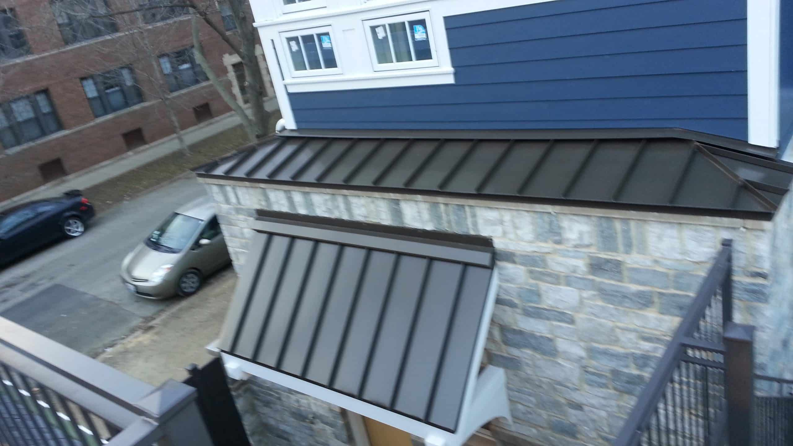 Standing Seam Metal Roof Project Chicago Il A B Edward