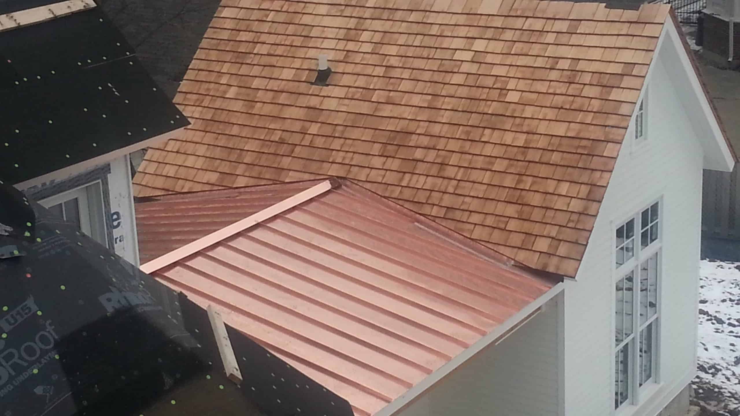 Copper Roofing Project - Chicago IL