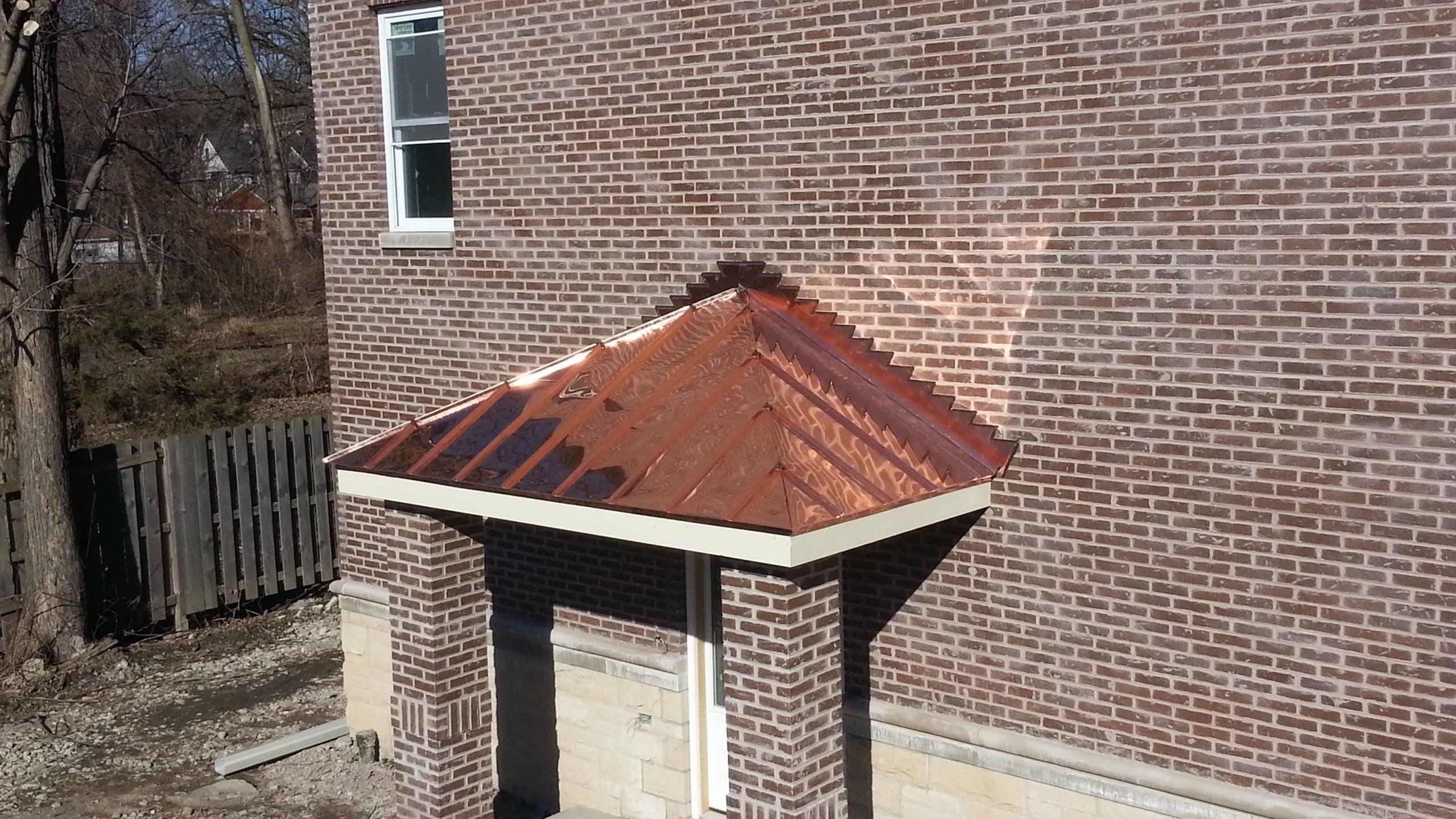 Copper Bay Windows Amp Copper Soffit Fascia Chicago Il