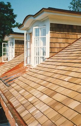 Cedar Shake Roofing Company A.B. Edward Enterprises, Inc. located in Wheeling, IL Talking About the Details