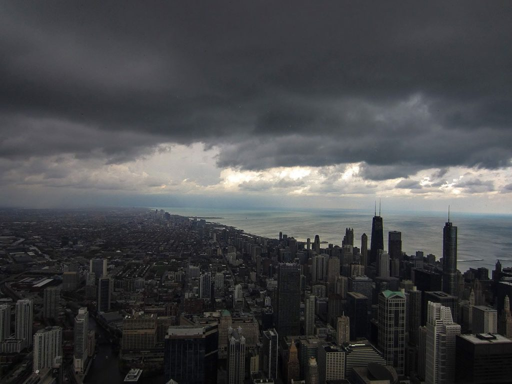Bad Weather Coming to the Chicagoland area.