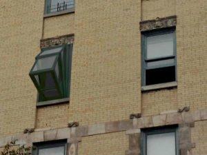 """More Sky"" Windows turn into balcony"