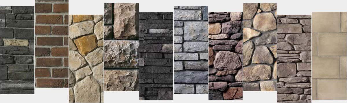 BORAL Stone Style and Colors