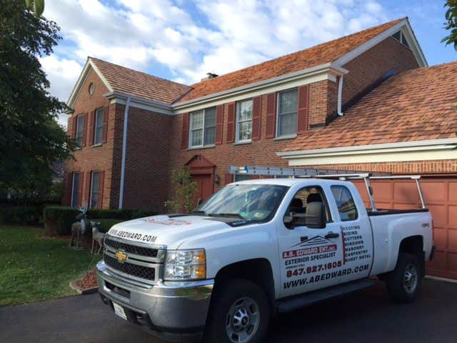Cedar Roofing Installation Chicago - A.B. Edward Enterprises Inc. (847) 827-1605