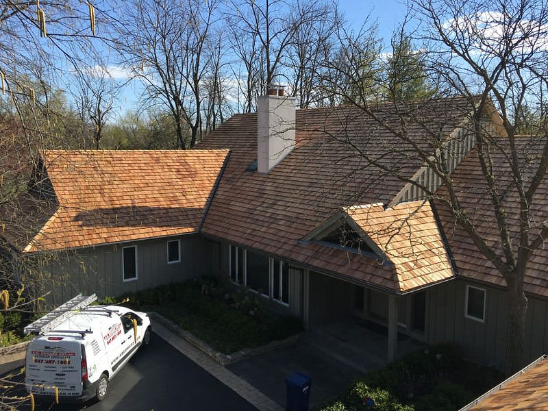 Cedar Roofing Contractor Chicago - A.B. Edward Enterprises Inc. (847) 827-1605