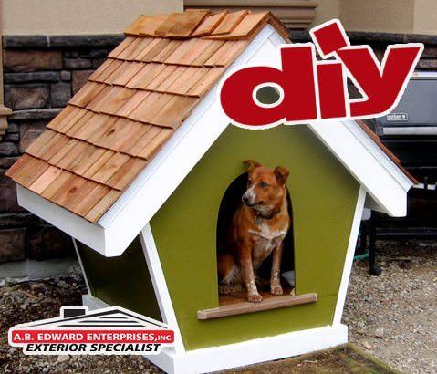 Cedar Shake Dog House