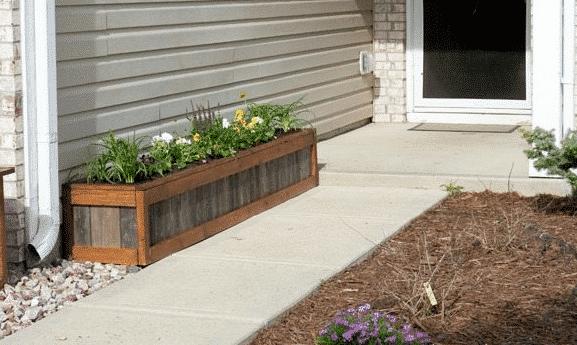 Cedar Shake Planter Boxes!