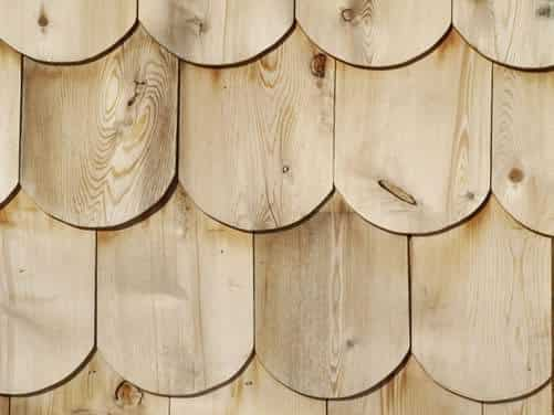 White Cedar Shingles – W/ Round Edge