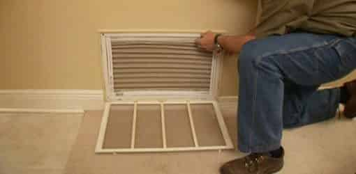 Changing the air conditioner filter makes your AC work better to keep you cooler.