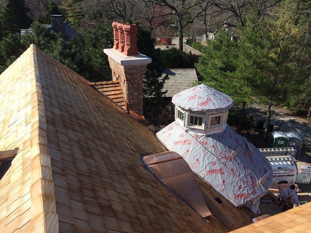 Cedar Roof Replacement (847) 827-1605