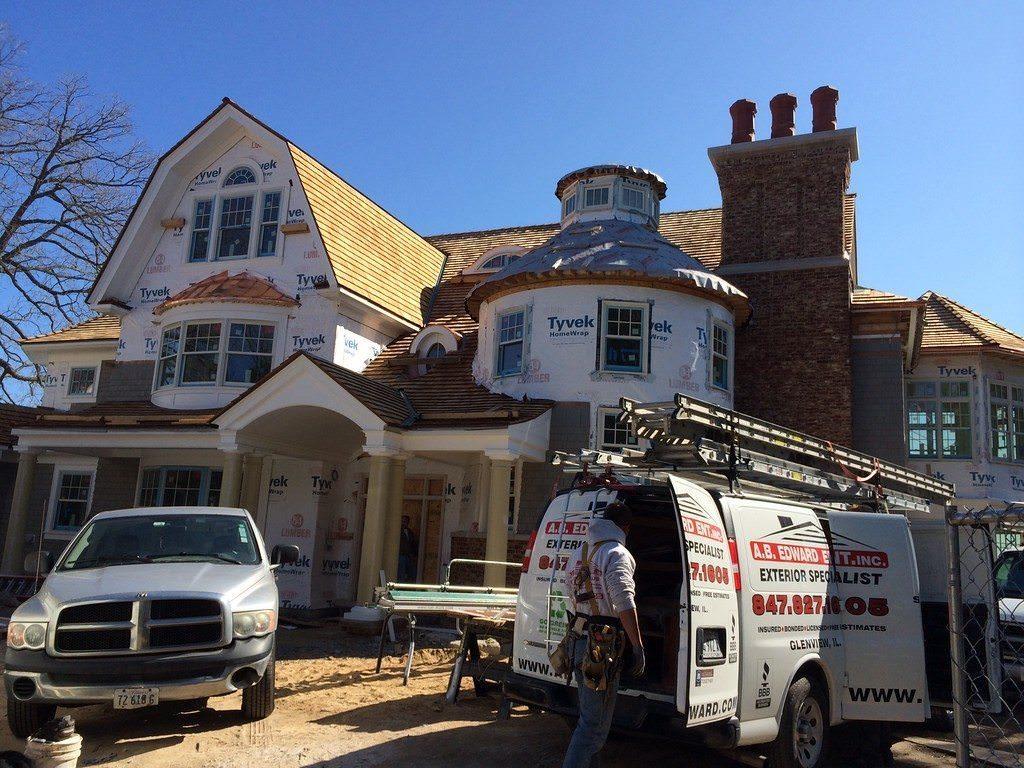 Cedar Roof Repair (847) 827-1605