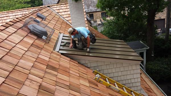 Cedar Roofing Installation Chicago IL