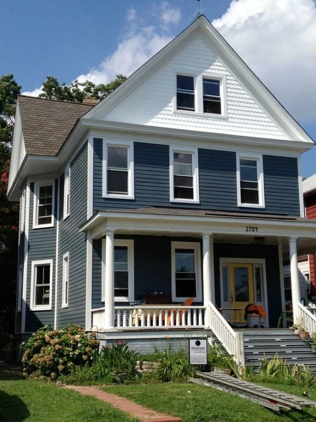 Boothbay Blue: James Hardie Siding