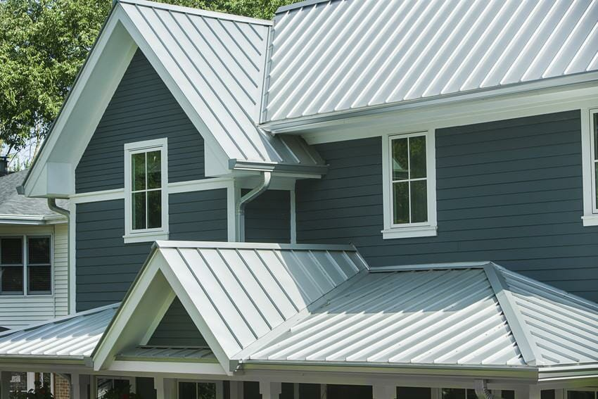 Evening Blue: James Hardie Siding Exterior Hues