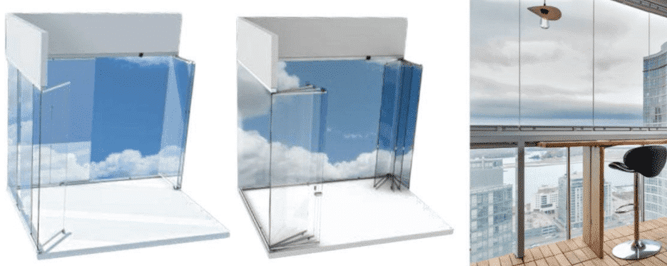 Retractable Glass Wall Systems