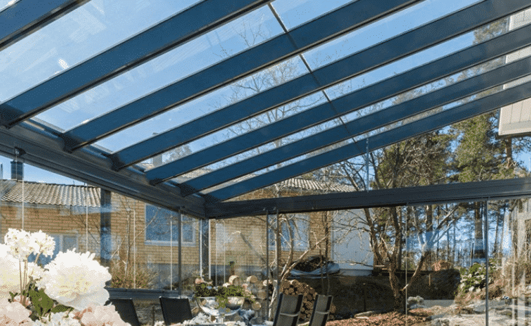 Lumon Retractable Terrace Glass