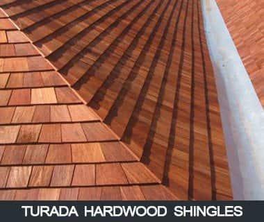 Turada Hardwood Shingles