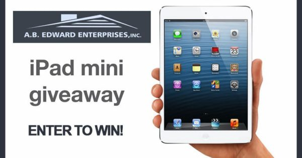 Free Apple Ipad Mini Giveaway From A B Edward Enterprises