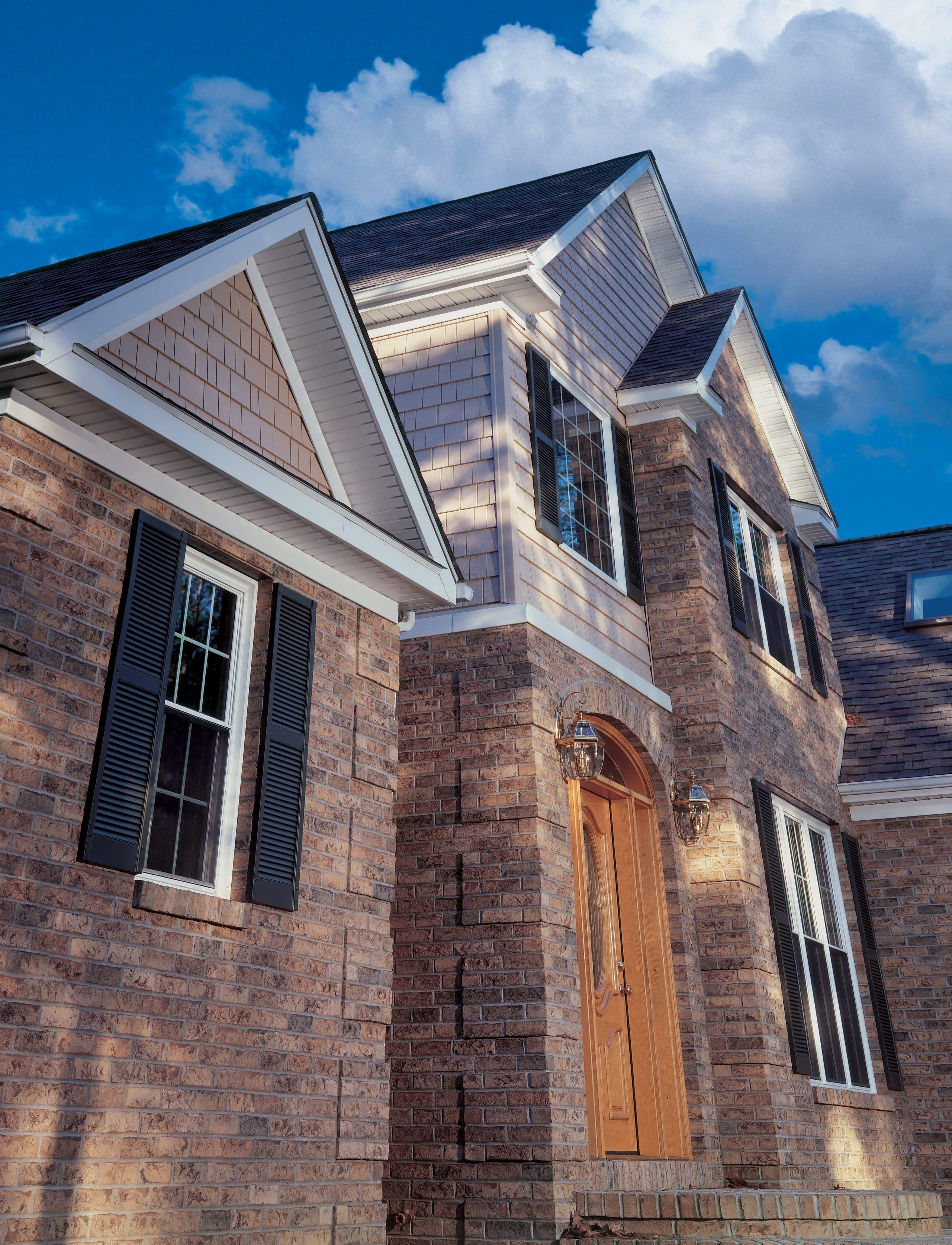 Mastic Home Exteriors And Siding Productsa B Edward