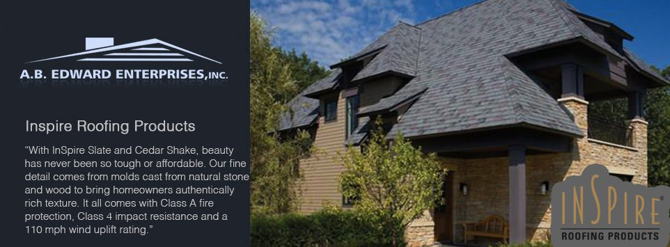 Insprire Slate And Shake Roofing Products