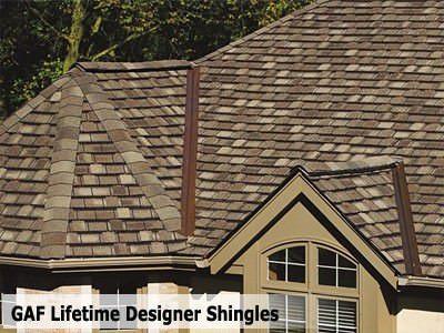 Designer Lifetime Gaf Roofing Shingles