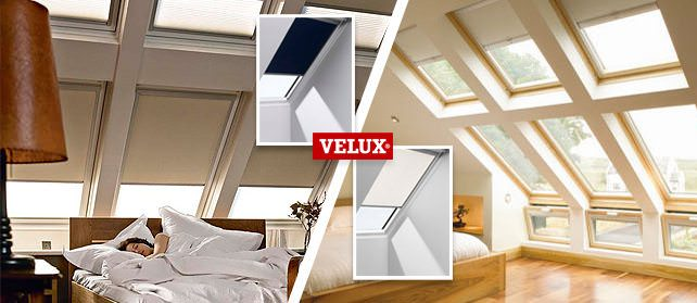 Velux blinds blackout roller venetian solar for Velux solar blinds