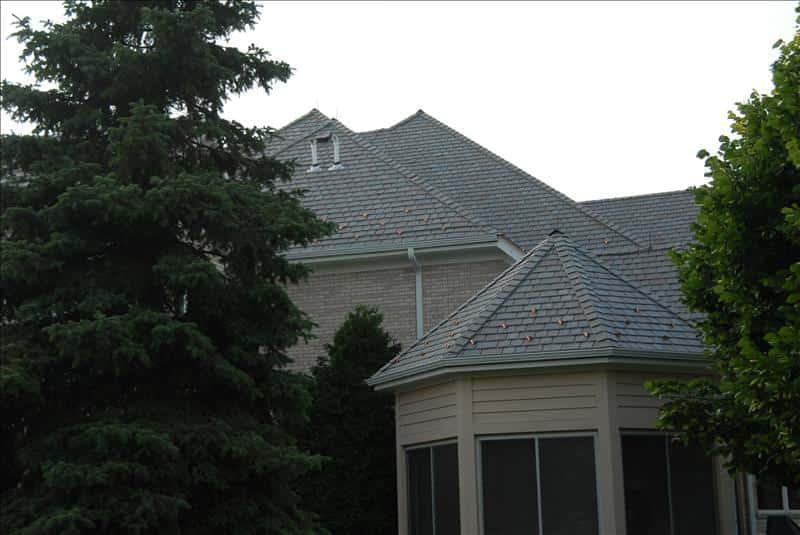 Davinci slate roofing installation for Davinci roofing