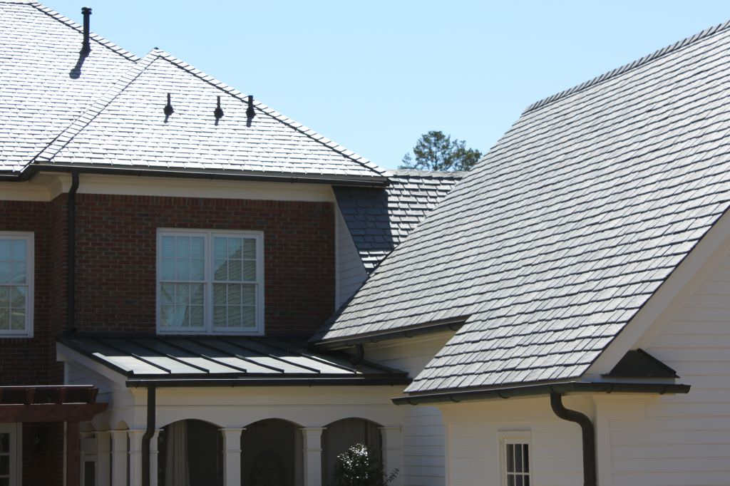 Davinci slate roofing installation for Davinci roofscapes cost