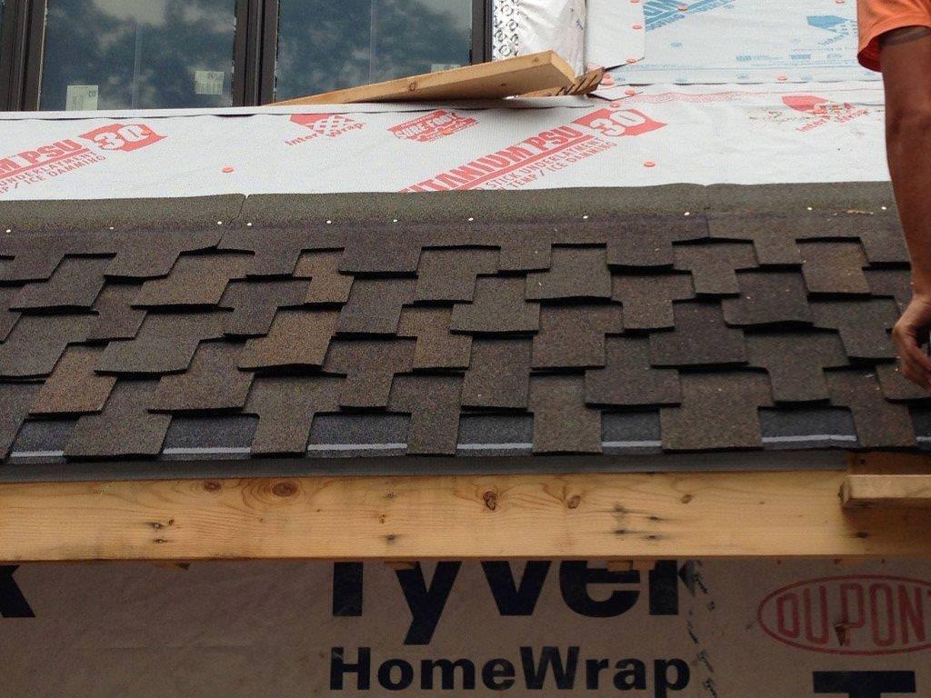 Interwrap titanium udl 30 for Davinci shake roof reviews