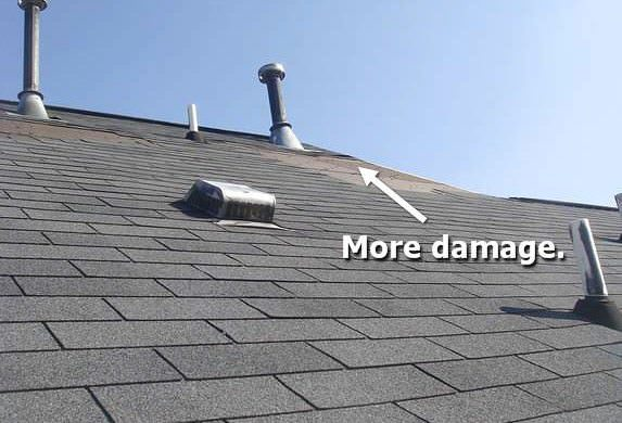 Roofing Damage Repair Company AB Edward