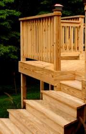 Timbersil is southern yellow pine lumber for Timbersil decking