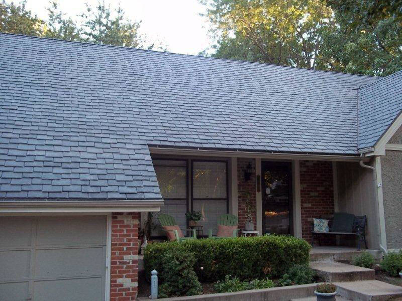 Synthetic slate roofing a b edward ent 847 827 1605 for Davinci slate roof