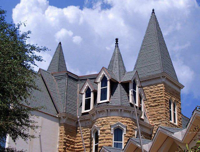 Shingle and asphalt roofing shingles a b edward enterprises for Davinci synthetic slate price