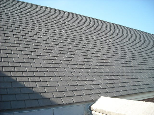 Synthetic SLate Roofing Contractor A.B. Edward Enterprises, Inc. (847)  827 1605