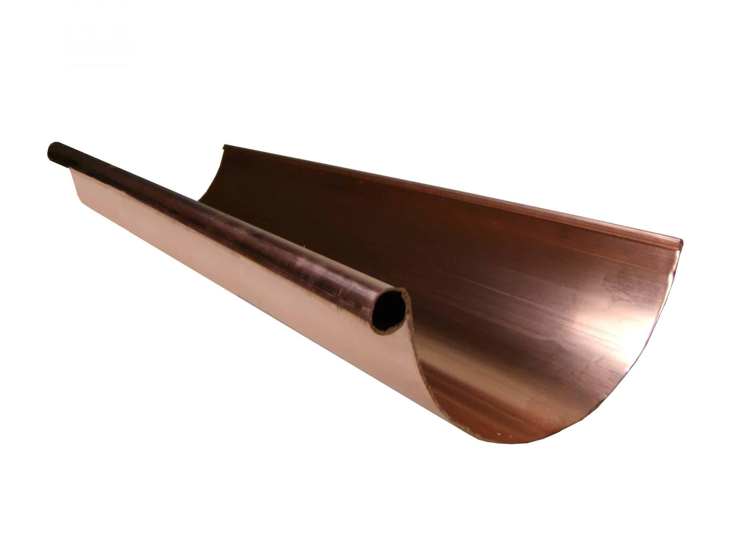 Half Round Copper Gutters