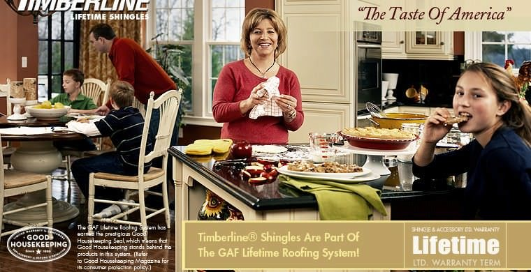 GAF Timberline® Lifetime Architectural Roofing Shingles