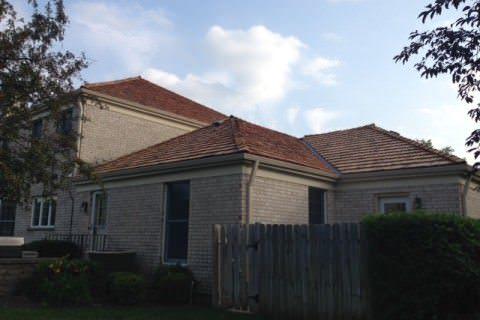 Cedar Roofing Gutters Glenview, Il